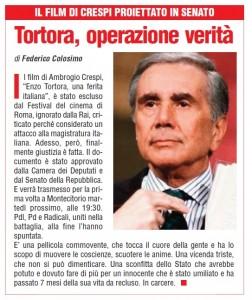TORTORA IL GIORNALE D'ITALIA