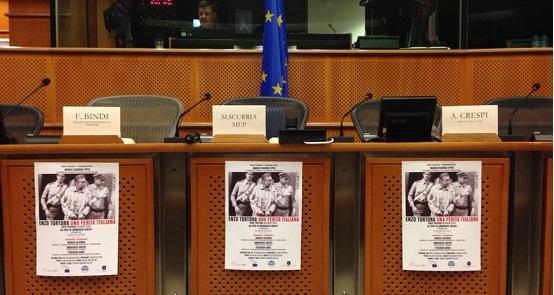 Enzo Tortora al parlamento europeo