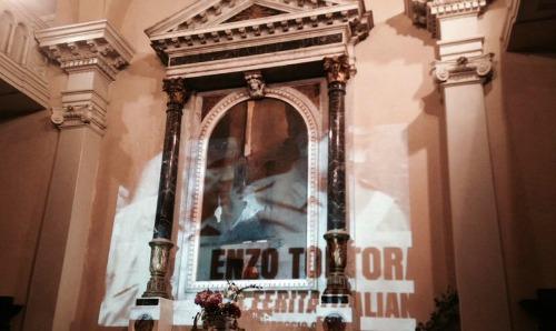 Enzo Tortora a Monza