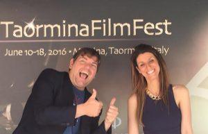 ambrogio crespi giorgia benusiglio taormina film festival