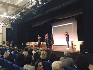"""""""Spes contra Spem, liberi dentro"""" di Ambrogio Crespi presentazione nel carcere di Opera il 22 Settembre 2016 - dibattito al termine della proiezione"""