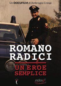 locandina Romano Radici un eroe semplice di Ambrogio Crespi