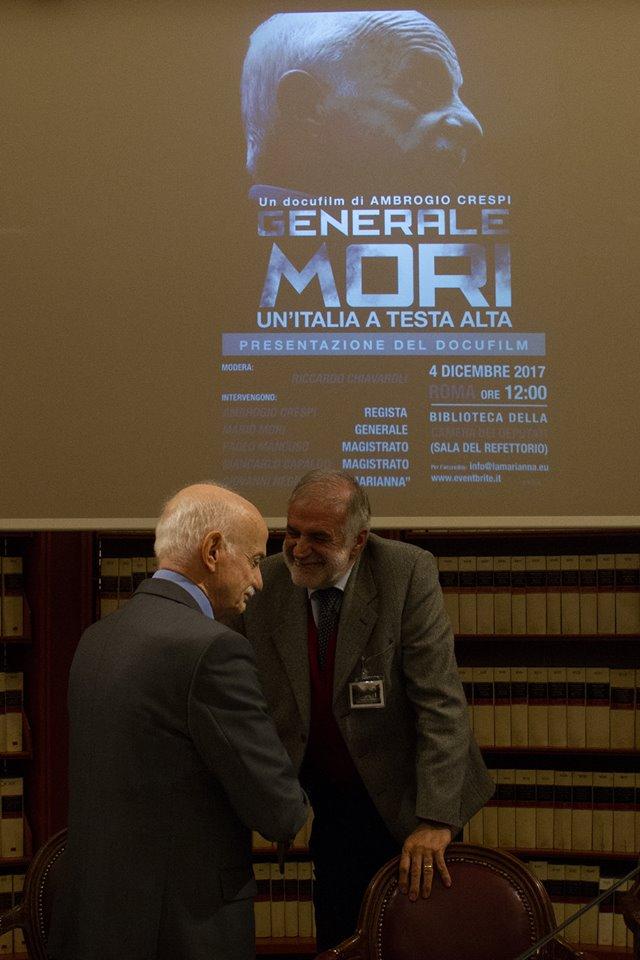 """GENERALE MORI. UN'ITALIA A TESTA ALTA"""" IL TRAILER DEL DOCUFILM ALLA CAMERA DEI DEPUTATI"""